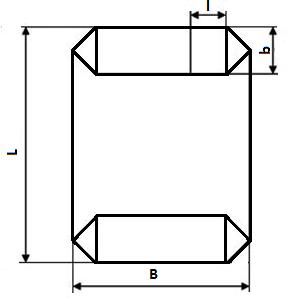 Мешок ПП коробчатый с клапаном