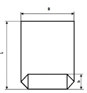 Мешок ПП коробчатого типа